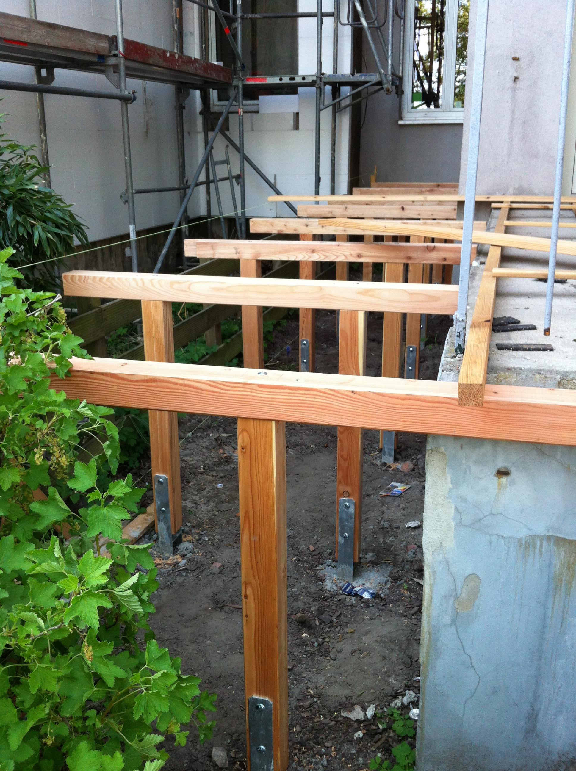 Balkon Pfostenanker Setzen Der Kellerwerker