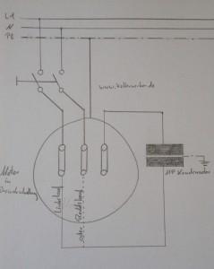 wie betreibe ich einen 400 v motor an 230 v die steinmetzschaltung der kellerwerker. Black Bedroom Furniture Sets. Home Design Ideas