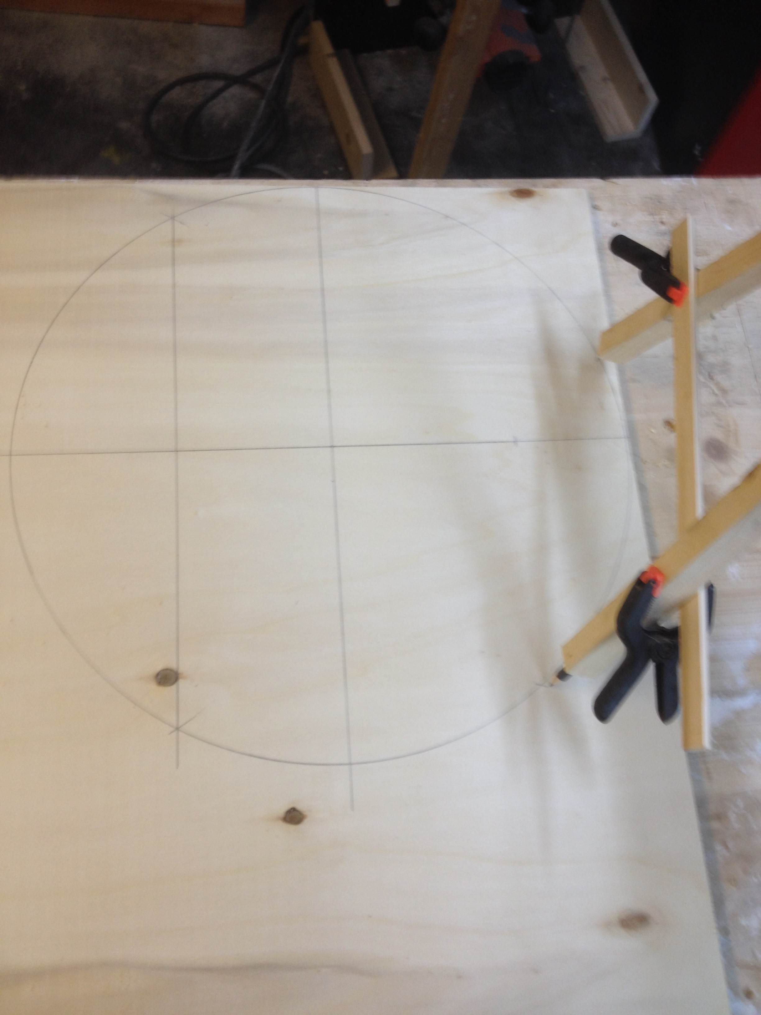 kreis malen ohne zirkel