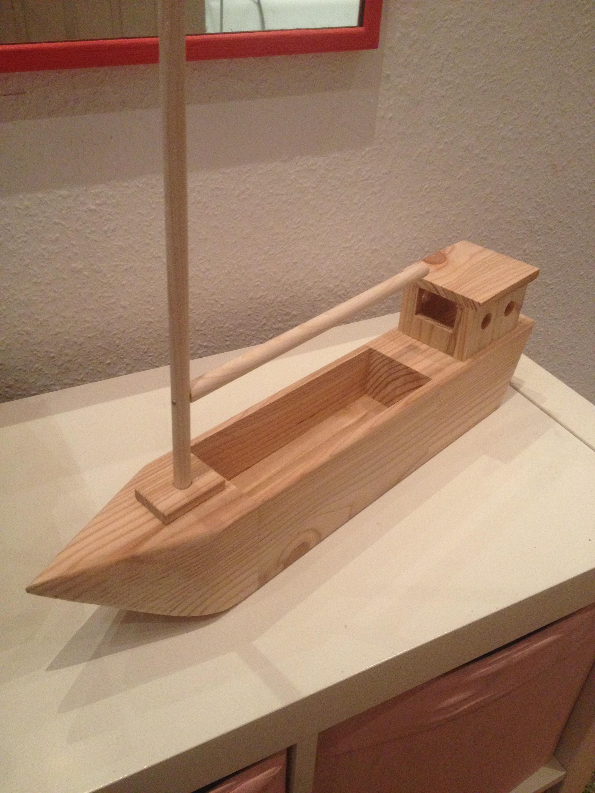 schiff aus restholz bauen - der kellerwerker