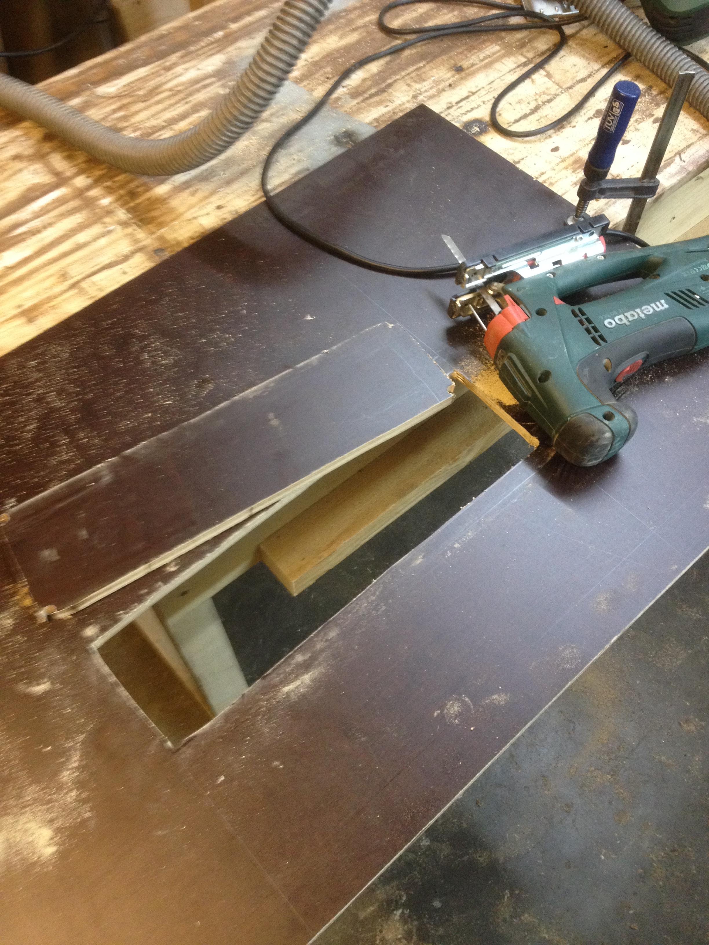 Umbau Tischkreissage Der Sagetisch Der Kellerwerker