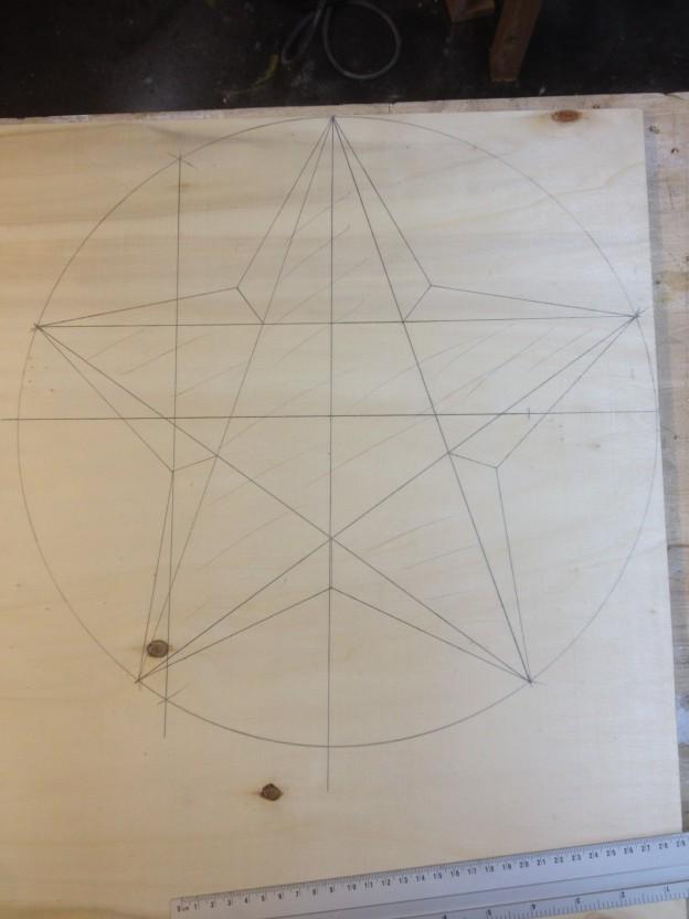Zacken 5 stern zeichnen 40 Stern