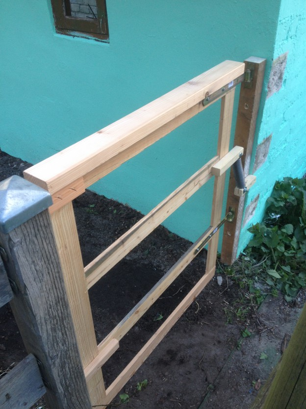 Gartentor in 60 Minuten bauen? - Der Kellerwerker