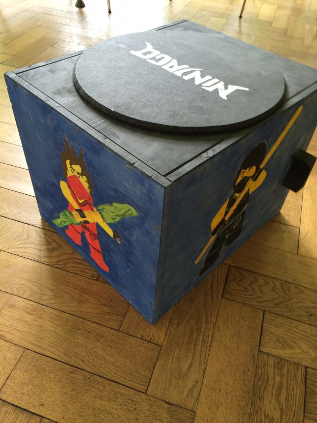 Sehr Lego-Ninjago Kiste selber bauen - Der Kellerwerker IN36